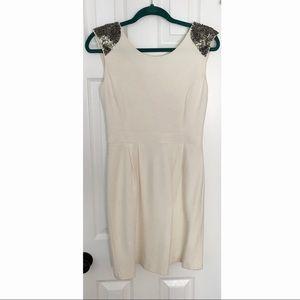 Gianni Bini Cream Dress